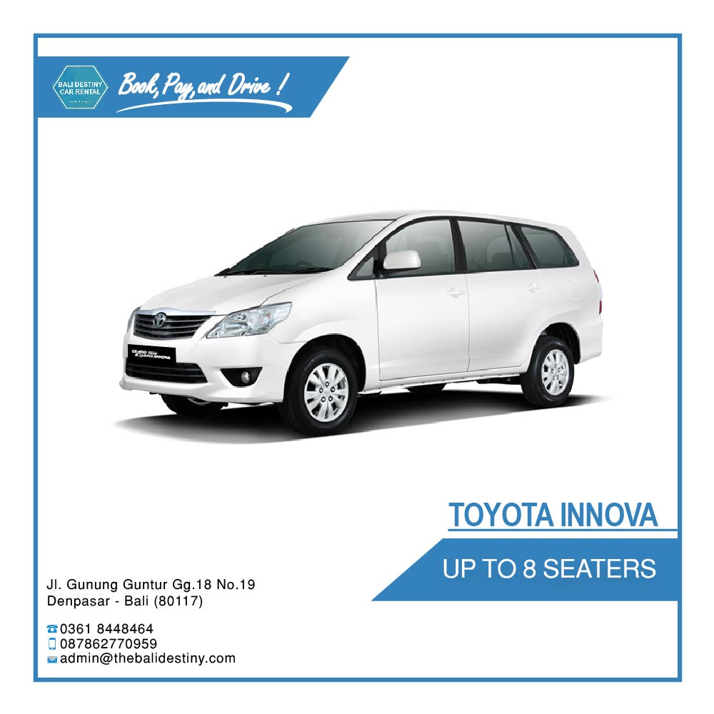 toyota new inova bali destiny travel