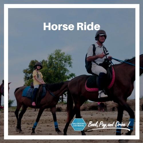 tempat wisata naik kuda di bali