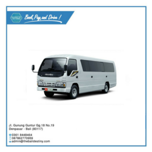 isuzu elf long bali destiny travel