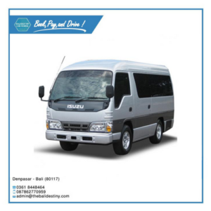 isuzu elf short bali destiny travel